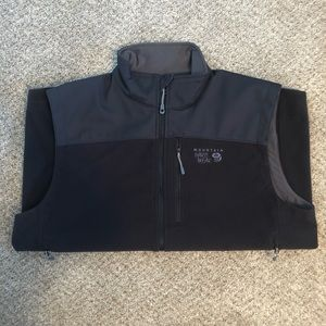 Mountain Hardwear Fleece Vest Men's L Black